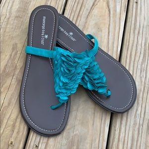 Montego Bay Club Women's Size 9 Sandals